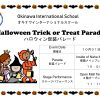 Okinawa International School Halloween Trick or Treat Parade